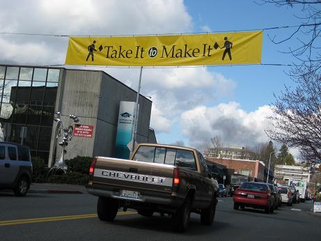 Take It or Make It Pedestrian Safety In Kirkland,WA