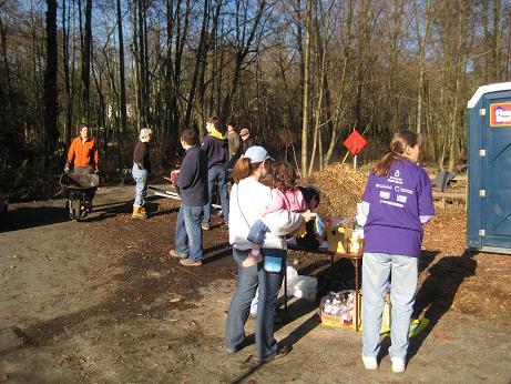 Cotton Hill Park clean up