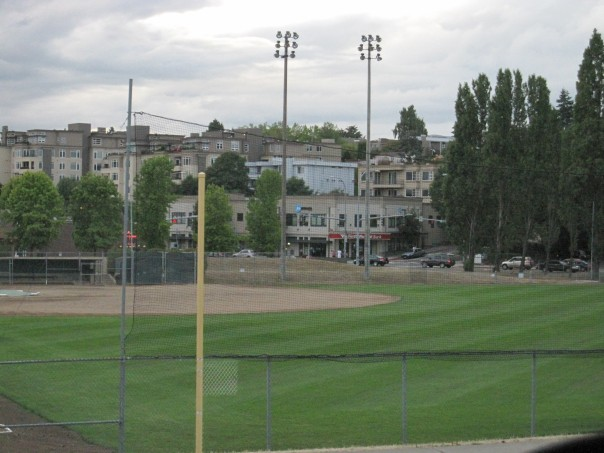 Peter Kirk Park ball field