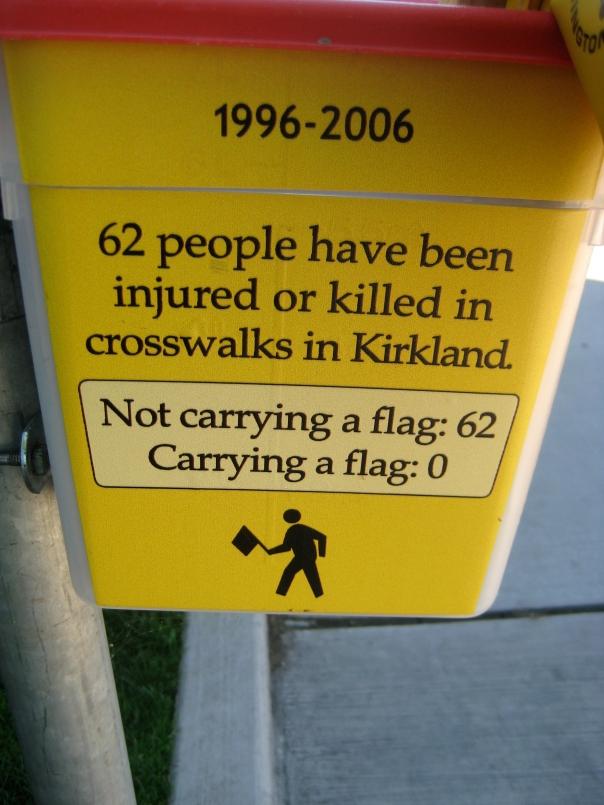 Kirkland walking flags