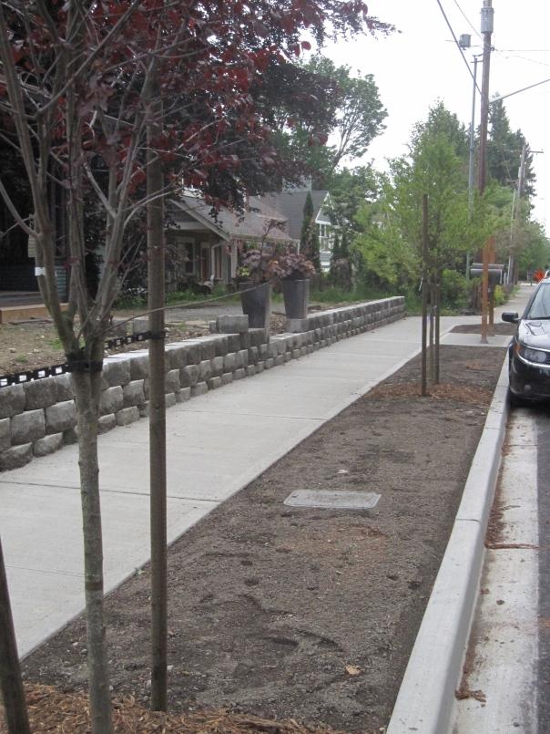 116th AVE Sidewalks in Kirkland WA