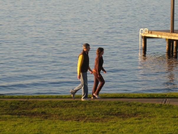 Enjoying Lake Washington in Kirkland