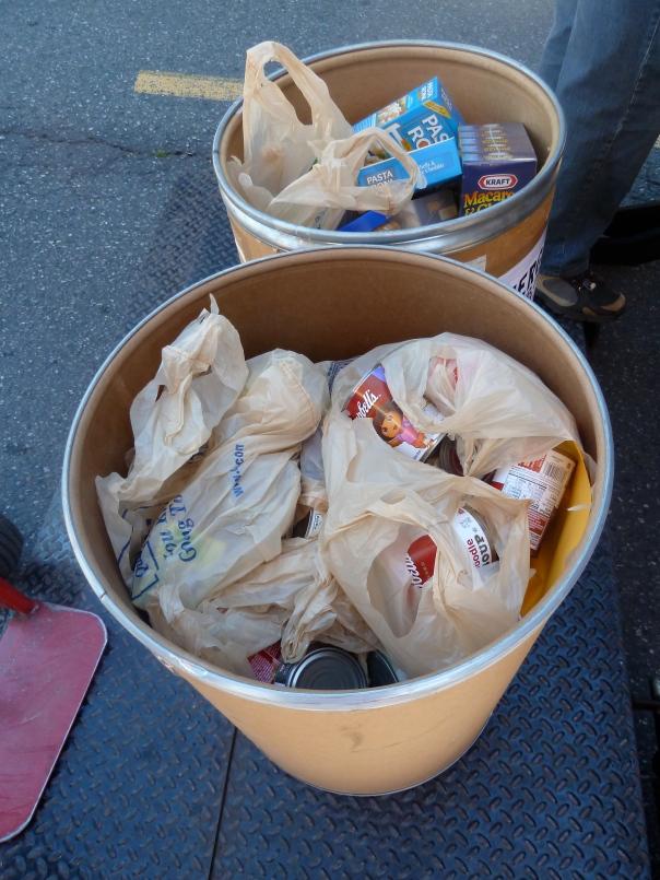 Food donations on Seattle's eastside